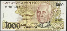 Brasilien / Brazil P.231 1000 Cruzeiros (1990-91) (1)