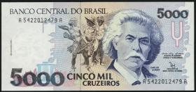 Brasilien / Brazil P.232 5000 Cruzeiros (1990-93) (1)