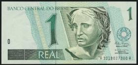 Brasilien / Brazil P.243 1 Real (1994-97) (1)