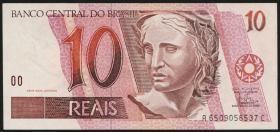 Brasilien / Brazil P.245Ab 10 Reais (1997-2003) (1)