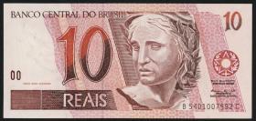 Brasilien / Brazil P.245Ae 10 Reais (1997-2003) (1)