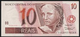 Brasilien / Brazil P.245g 10 Reais (1994) (1)