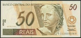 Brasilien / Brazil P.246j 50 Reais (1994-2003) (1)