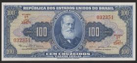 Brasilien / Brazil P.170c 100 Cruzeiros (1964) (1)