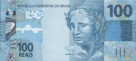 Brasilien / Brazil P.257 100 Reais 2010 (1)