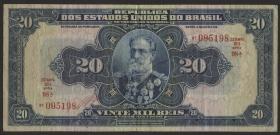 Brasilien / Brazil P.048d 20 Mil Reis (1931) (3)