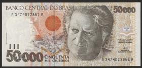 Brasilien / Brazil P.234 50000 Cruzeiros (1992-93) (1)