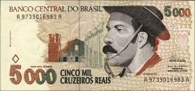 Brasilien / Brazil P.241 5000 Cruzeiros (1993) (1)