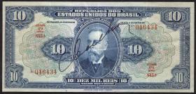 Brasilien / Brazil P.039c 10 Mil Reis (1925) (3+)