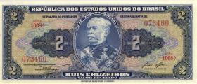 Brasilien / Brazil P.151b 2 Cruzeiro (1954-58) (1)