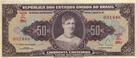 Brasilien / Brazil P.179 50 Cruzeiros (1963) (1)