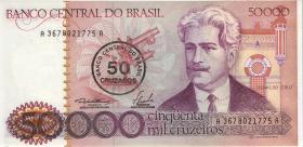 Brasilien / Brazil P.207 50 Cruzados auf 50000 Cruzeiros (1986) (1)
