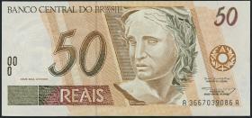 Brasilien / Brazil P.246f 50 Reais (1994-2003) (1)