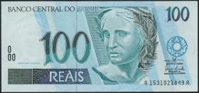 Brasilien / Brazil P.247e 100 Reais (1994-2003) (1/1-)