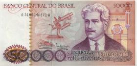 Brasilien / Brazil P.204c 500.000 Cruzeiros (1985) (1)