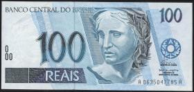 Brasilien / Brazil P.247a 100 Reais (1994-2003) (1)