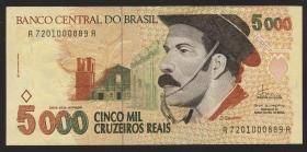 Brasilien / Brazil P.241 5000 Cruzeiros (1993) (2)