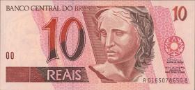 Brasilien / Brazil P.245b 10 Reais (1994) (1)