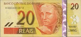 Brasilien / Brazil P.250a 20 Reais (2002-) (1)