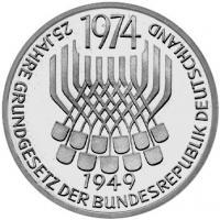 J.413 25 Jahre Grundgesetz