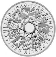 J.446 40 Jahre Bundesrep. Deutschland