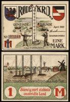 Notgeld Brunde - Rothenkrug 1 Mark