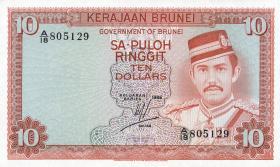 Brunei P.08b 10 Ringgit 1986 (1)