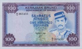 Brunei P.10c 100 Ringgit 1982 (1)