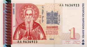 Bulgarien / Bulgaria P.114 1 Lewa 1999 (1)