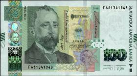 Bulgarien / Bulgaria P.neu 100 Lewa 2018 (1)