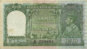 Burma P.05 10 Rupien (1938) (2)