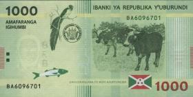 Burundi P.51 1000 Francs 2015 Hybrid (1)