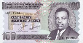 Burundi P.44 100 Francs 2010 (1)