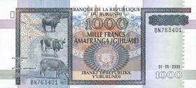 Burundi P.39d 1000 Francs 2006 (1)