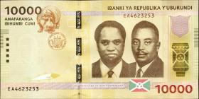 Burundi P.54 10000 Francs 2015 (1)