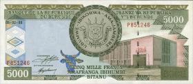 Burundi P.42a 5000 Francs 1999 (1)