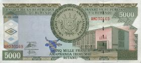 Burundi P.42c 5000 Francs 2005 (1)