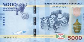 Burundi P.53 5000 Francs 2015 (1)