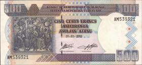 Burundi P.38c 500 Francs 2003 (1)