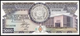 Burundi P.32d 5000 Francs 1994 (1)