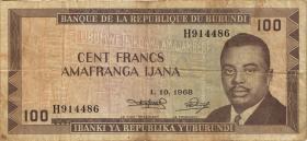Burundi P.23a 100 Francs 1968 (4)