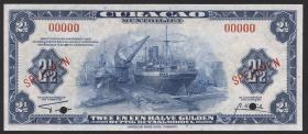 Curacao P.36s 1 1/2 Gulden 1947 Specimen (1)