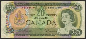 Canada P.089b 20 Dollars 1969 (3)