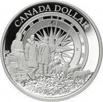 Canada 1 Dollar 2013 Arctic Expedition PP