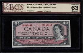 Canada P.083d 1000 Dollars 1954 (1)