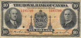 Canada  P.S1392 10 Dollars 1935 (3)