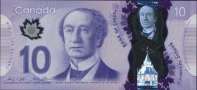 Canada P.107b 10 Dollars 2013 (2015) Polymer (1)