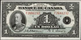 Canada P.039 1 Dollar 1935 (1)