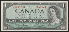 Canada P.075d 1 Dollar 1954 (1973-74) (1)