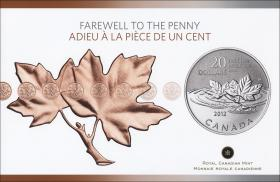 Canada 20 Dollars 2012 Abschied vom Penny